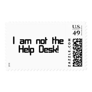 Not Help Desk Postage Stamp