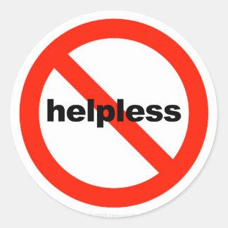 Not Helpless - Stickers