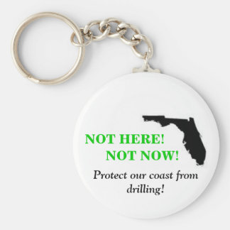 Not Here Not Now Keychain