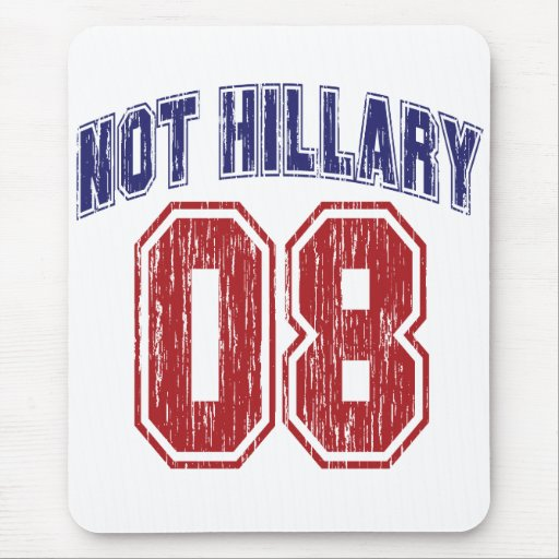 Not Hillary 08 Vintage Mouse Mats