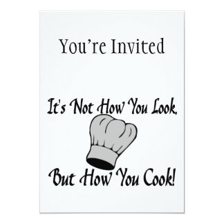 Not How You Look But How You Cook Card