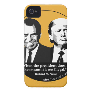Not Illegal President iPhone 4 Case