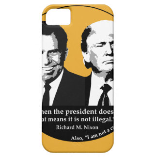 Not Illegal President iPhone SE/5/5s Case