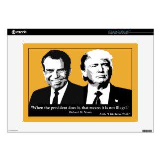 Not Illegal President Laptop Skin