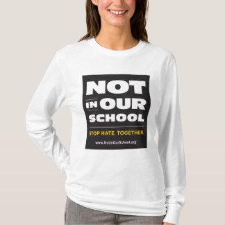 Not In Our School Women's Long-Sleeved Hoodie