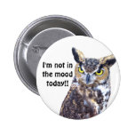 Not in the Mood_Button Pinback Buttons