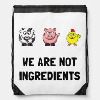 Not Ingredients Drawstring Backpack