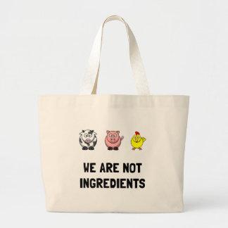 Not Ingredients Large Tote Bag