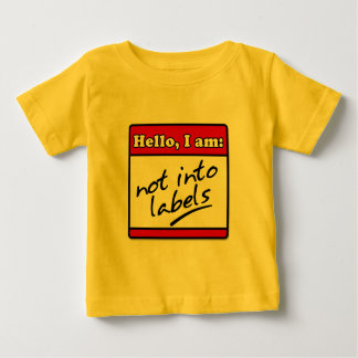 Not Into Labels Infant T-shirt