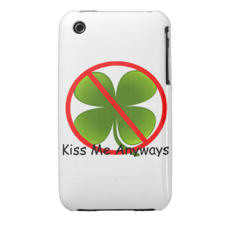 Not Irish, Kiss Me Anyways Case-Mate iPhone 3 Case