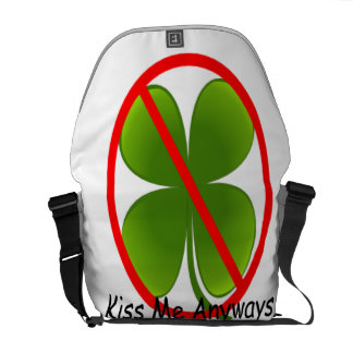 Not Irish, Kiss Me Anyways Messenger Bag