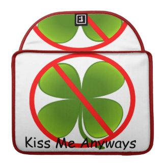 Not Irish, Kiss Me Anyways Sleeve For MacBooks