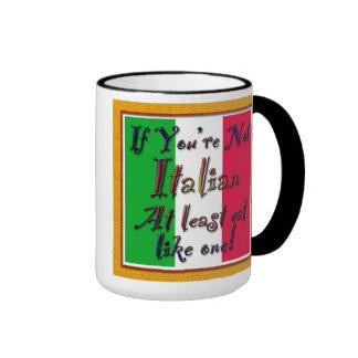 NOT Italian but ... Ringer Mug