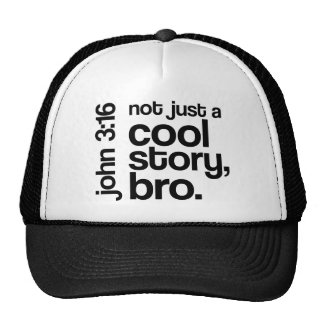 """""""Not Just a Cool Story, Bro"""" Hat"""