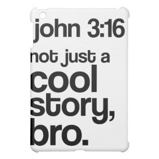 Not Just a Cool Story Bro iPad Case Dark Text