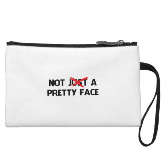 Not (Just) A Pretty Face Wristlet