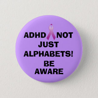 NOT JUST ALPHABETS!, BE,... PINBACK BUTTON