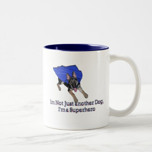 Not Just Another Dog Two-Tone Mug