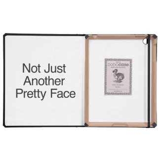 Not Just Another Pretty Face.ai iPad Folio Case