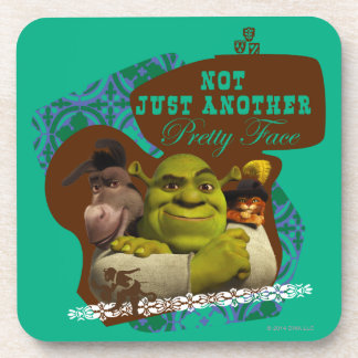 Not Just Another Pretty Face Beverage Coaster