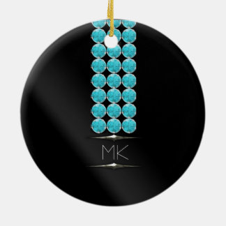 Not Just December Birthday Glam Ceramic Ornament