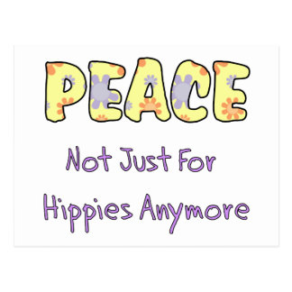Not Just For Hippies Postcard