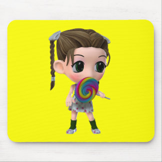 Not Just for Kids Lollipop Girl Mouse Pad