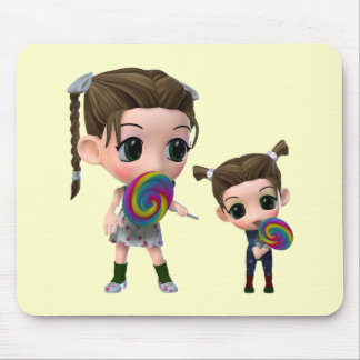 Not Just for Kids Lollipop Girls Mouse Pad