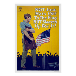 Not just hats off to the flag posters