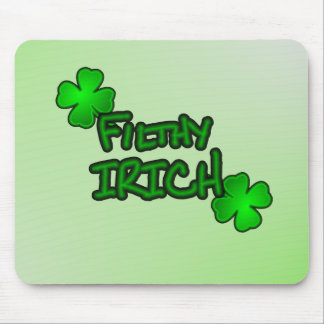Not Just Irish but Irich Mouse Pad