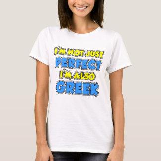 Not Just Perfect Greek T-Shirt