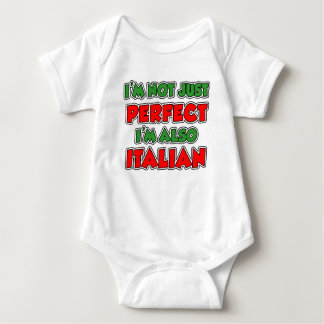 Not Just Perfect Italian Kids Baby Bodysuit