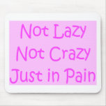 not lazy not crazy mouse pads