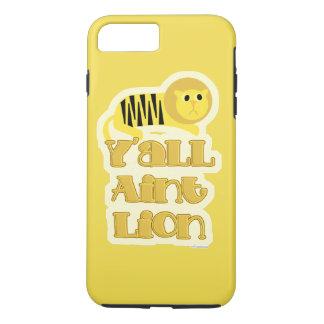 Not Lion Funny Slogan iPhone 8 Plus/7 Plus Case