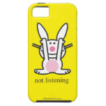 Not Listening iPhone 5 Covers