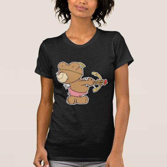 not looking shooting arrow cupid teddy bear T-Shirt