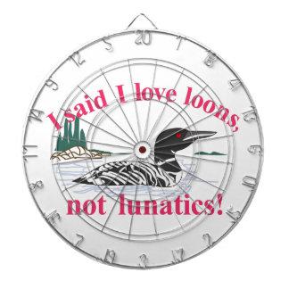 Not Lunatics Dartboard