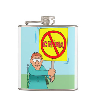 NOT MADE IN CHINA flask! Flask