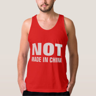 NOT Made in China Tank Top