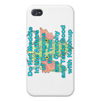 Not meddle teal dragon head iPhone 4/4S cover