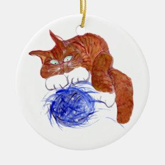 Not More Blasted Yarn Ceramic Ornament