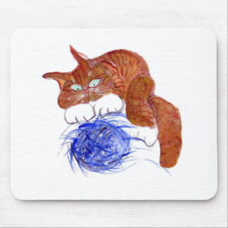 Not More Blasted Yarn Mouse Pad