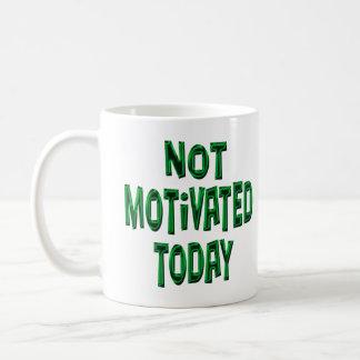 Not Motivated Mug