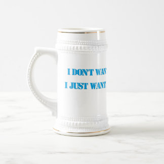 Not Much Wanted Mug.