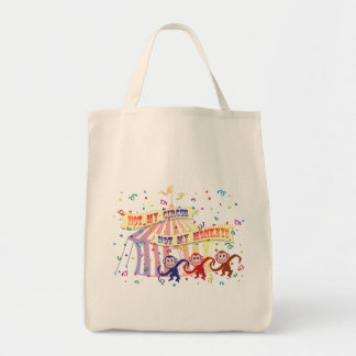 Not My Circus... Grocery Tote Bag