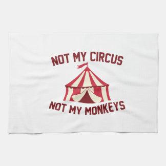 Not My Circus Hand Towel