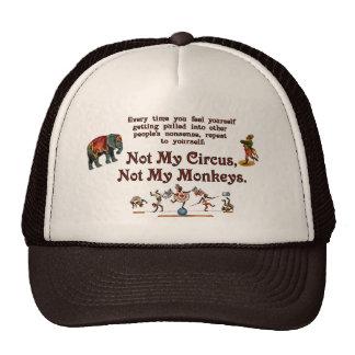Not My Circus, Not My Monkeys Hats