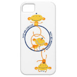 not my circus, not my monkeys! iPhone 5 cover