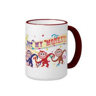Not My Circus... Ringer Mug