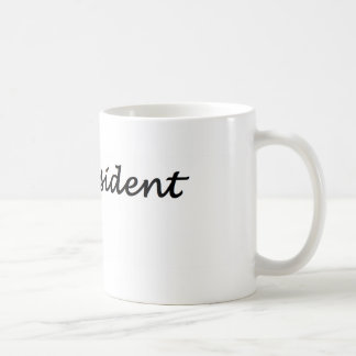 not my president # coffee mug